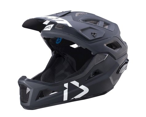 Leatt DBX 3.0 Enduro Helmet (Black/White) (S)