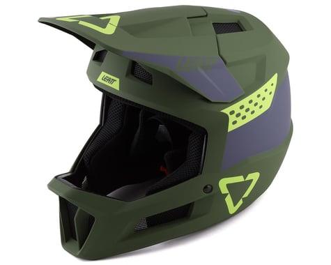 Leatt MTB 1.0 DH Full Face Helmet (Cactus) (L)