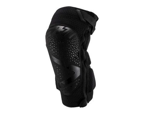 Leatt 3DF 5.0 Zip Knee Guards (Black) (S/M)