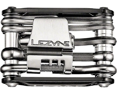 Lezyne RAP 15 Co2 Multi Tool 15 Function (Aluminum Black Sides)