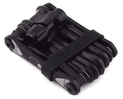 Lezyne RAP II CO2 Multi Tool (Black) (25 Tools)