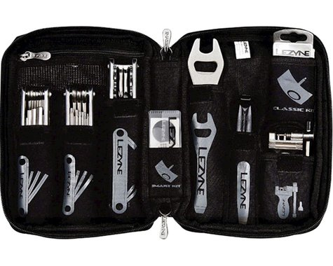 Lezyne Port A Shop Portable Bike Shop Tool Kit (Black)