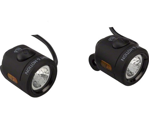 Light & Motion Nip-n-Tuck E-Bike Headlight & Taillight Set