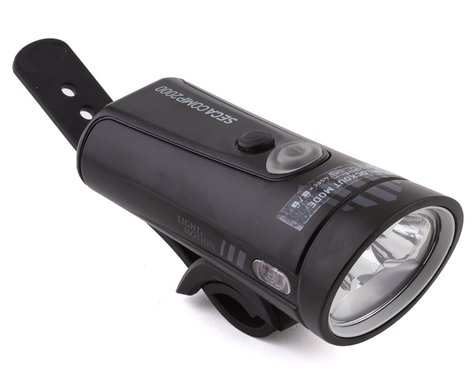 Light & Motion Seca Comp 2000 Rechargeable Headlight (Black Pearl)