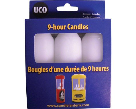 Light My Fire UCO 9-hour Candles for Original Lantern (3)