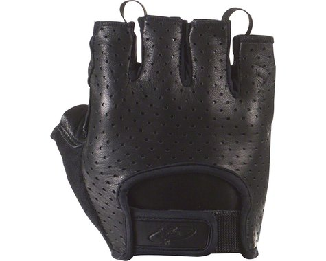 Lizard Skins Aramus Classic Gloves - Jet Black, Short Finger, Small (M)