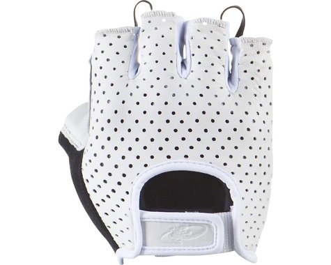 Lizard Skins Aramus Classic Short Finger Gloves (White) (M)