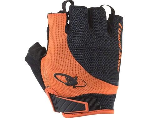 Lizard Skins Aramus Elite Short Finger Gloves (Jet Black/Orange)