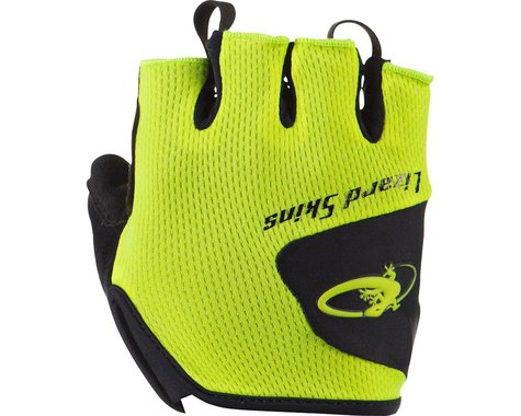 Lizard Skins Aramus Short Finger Gloves (Neon Yellow) (XL)