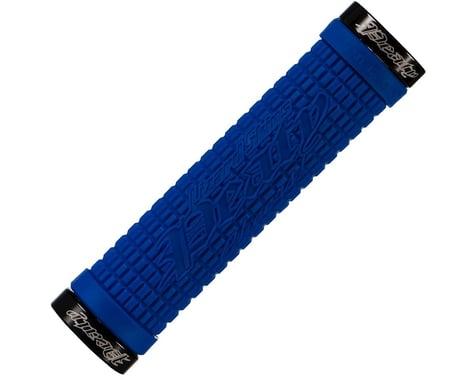 Lizard Skins Peaty Lock-On Grips (Electric Blue)
