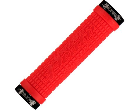 Lizard Skins Peaty Lock-On Grips (Fire Red)