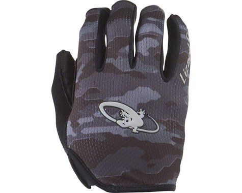 Lizard Skins Monitor Gloves - Blue Strike, Full Finger, Large