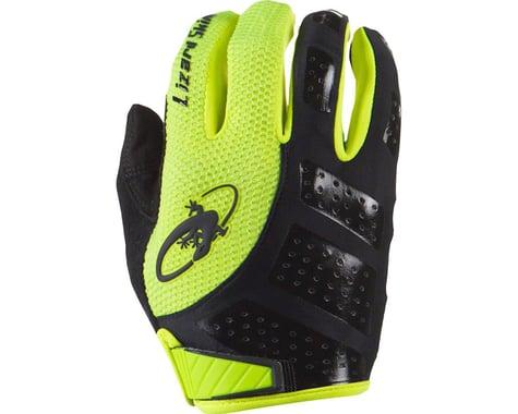 Lizard Skins Monitor SL Full Finger Gloves (Jet Black/Hi-Viz)