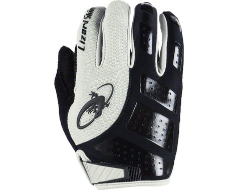 Lizard Skins Monitor SL Full Finger Gloves (Jet Black/White)