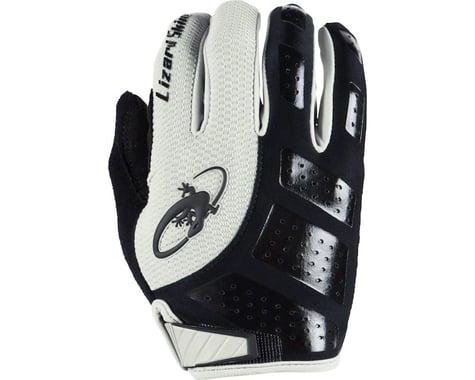 Lizard Skins Monitor SL Gel Full Finger Gloves (Black/White) (L)