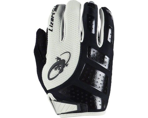 Lizard Skins Monitor SL Gel Full Finger Gloves (Black/White) (S)