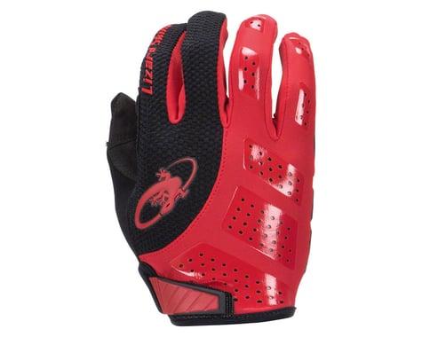 Lizard Skins Monitor SL Gel Full Finger Gloves (Red/Black) (L)
