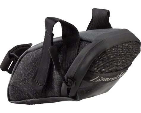 Lizard Skins Micro Cache Saddle Bag (Jet Black)