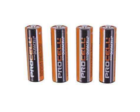 Loctite Duracell AA batteries, 24 pack