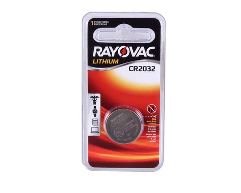 Loctite Rayovac 2032 battery, each