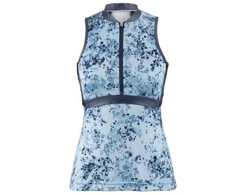 Louis Garneau Women's Art Factory Sleeveless Zircon Jersey (Blue) (XL)