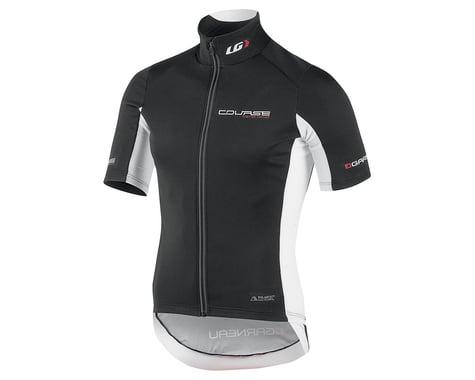 Louis Garneau Course Power Shield Cycling Jersey (Black/White)