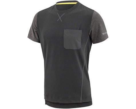 Louis Garneau Garneau T-Dirt Men's Jersey: Gray/Tawny Port 2XL