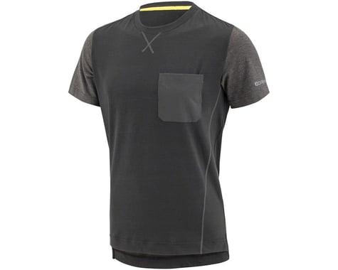 Louis Garneau T-Dirt Jersey (Black/Grey) (2XL)