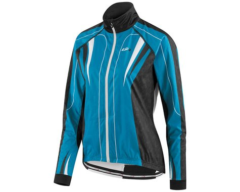 Louis Garneau Women's Glaze 2 Jacket (White/Pink)