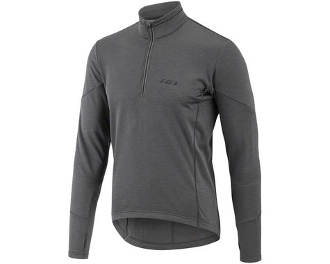 Louis Garneau Edge 2 Long Sleeve Jersey (Asphalt) (S)