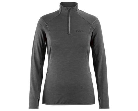 Louis Garneau Women's Edge 2 Long Sleeve Jersey (Asphalt) (XL)