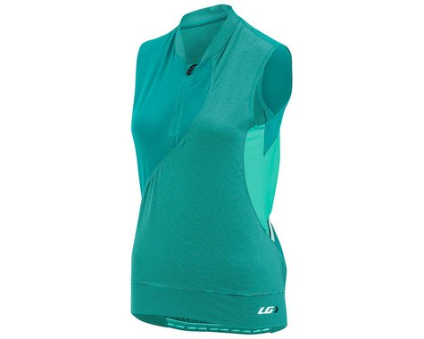 Garneau Stella Women's Top: Cricket/Mojito Stripes MD