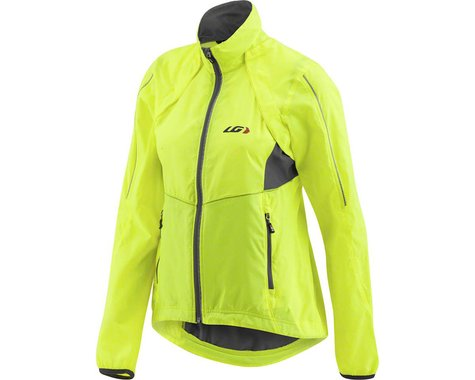Louis Garneau Women's Cabriolet Jacket (Bright Yellow)
