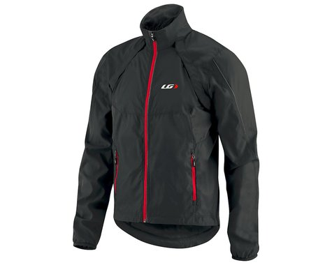 Louis Garneau Cabriolet Jacket (Black/Red)