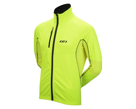 Louis Garneau LT Enerblock Jacket (Hi-Vis Yellow)