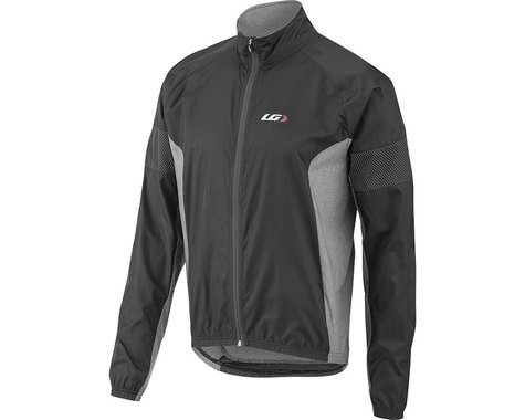 Louis Garneau Modesto 3 Cycling Jacket (Black/Grey) (XL)