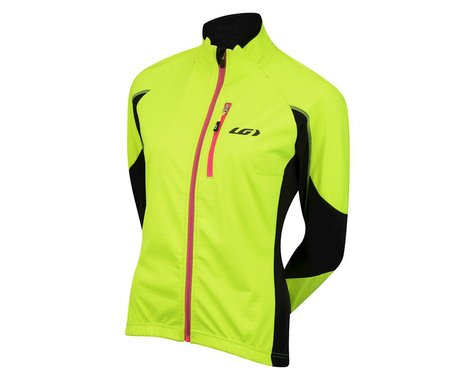 Louis Garneau Women's LT Enerblock Jacket (Hi-Vis Yellow) (Xlarge)