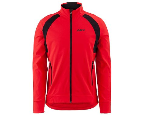 Louis Garneau Men's Dualistic Jacket (Red/Black) (XL)