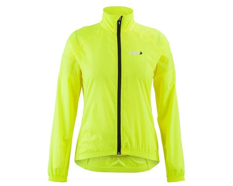 Louis Garneau Women's  Modesto 3 Cycling Jacket (Bright Yellow) (2XL)