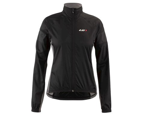 Louis Garneau Women's  Modesto 3 Cycling Jacket (Black/Grey) (XS)