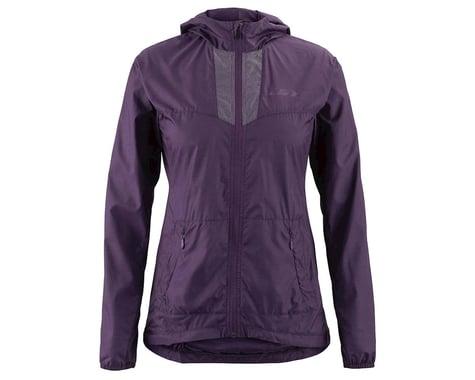 Louis Garneau Women's Modesto Hooded Jacket (Logan Berry) (S)