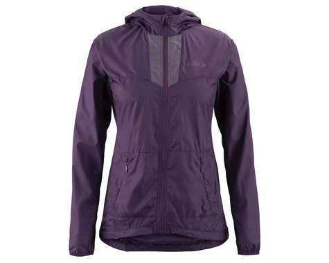 Louis Garneau Women's Modesto Hooded Jacket (Logan Berry) (XS)
