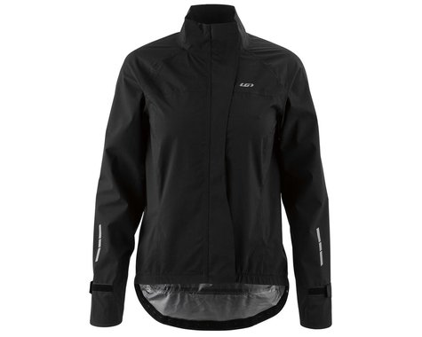 Louis Garneau Women's Sleet WP Jacket (Black) (XL)