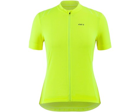 Louis Garneau Women's Breeze 3 Jersey (Bright Yellow) (S)