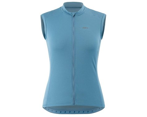 Louis Garneau Women's Breeze 3 Sleeveless Jersey (Half Moon Blue) (XL)
