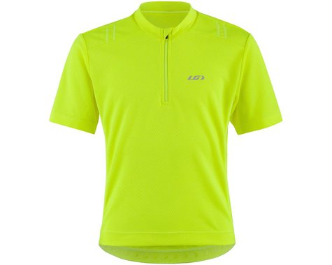 Louis Garneau Lemmon 2 Junior Short Sleeve Jersey (Bright Yellow) (Kids XL)