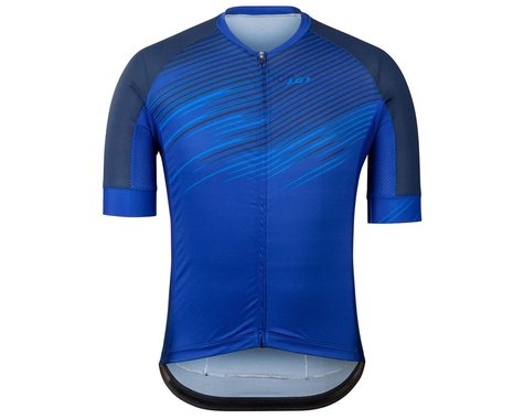 Louis Garneau Men's District Jersey (Blue) (XL)