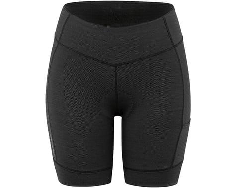 Louis Garneau Women's Fit Sensor Texture 7.5 Shorts (Black) (L)