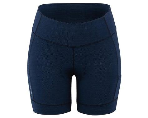 Louis Garneau Women's Fit Sensor Texture 5.5 Shorts (Dark Night) (M)