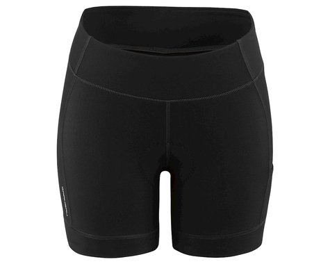 Louis Garneau Women's Fit Sensor 5.5 Shorts 2 (Black) (XL)